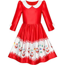 cocktail cartoon girls dresses with novelty cartoon pattern sunny fashion
