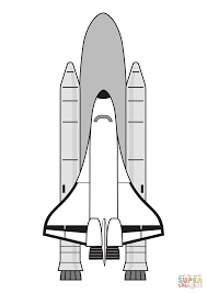 free printable space coloring pages space shuttle ready to launch coloring page free printable