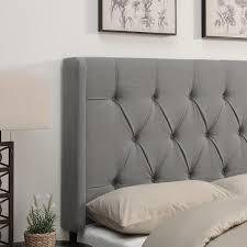 bed headboard davina upholstered wingback headboard reviews joss main