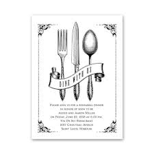 Rehearsal Dinner Invitations Vintage Silver Petite Rehearsal Dinner Invitation Invitations By