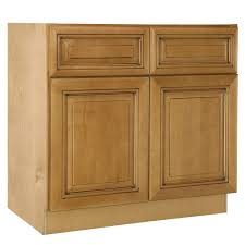 assembled 36x34 5x24 in base kitchen cabinet in home decorators collection lewiston assembled 36x34 5x24 in double