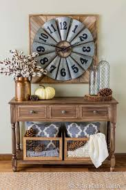 entry way table ideas 28 welcoming fall inspired entryway decorating ideas