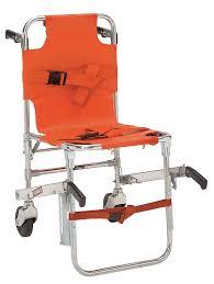 ferno stair chair 350 lb cap orange 4hrh6 model 40 orange