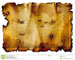 pirate map royalty free stock image image 9668546