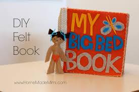 make a diy felt book home made mimihome made mimi