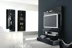 Tv Cabinet Wall Mounted Full Image For Tv Stand Gloss White Images About Stands Wall Mount