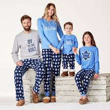 famjams hanukkah family pajamas jcpenney