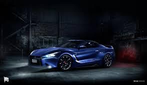 Nissan Gtr Blue - biser3a 2018 nissan gt r rendering archives biser3a