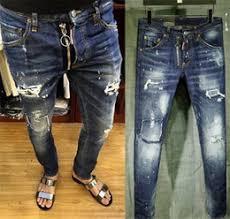 Mens Destroyed Skinny Jeans Discount Light Destroyed Jeans For Men 2017 Light Destroyed