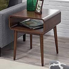 all modern side tables amazon com belham living carter mid century modern side table