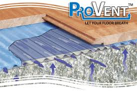 provent underlay for real wood and laminate floating floors