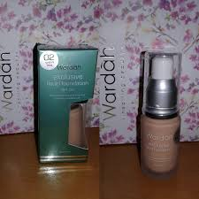 Wardah Exclusive Liquid Foundation Sheer Pink 02 dessy journal review and swatch wardah exclusive liquid foundation