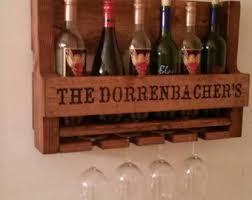 wood wine racks etsy
