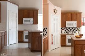 kitchen backsplash tile ideas with wood cabinets 7 diy kitchen backsplash ideas that are easy and inexpensive
