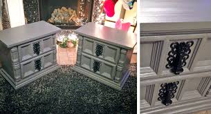 chic metallic driftwood tables general finishes design center