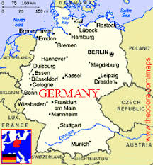 geographical map of germany mapping and geographical world map of germany