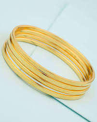 silver gold plated bracelet images Buy plain gold plated 925 sterling silver bangles online india jpg