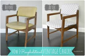 how to reupholster a kitchen chair 13562