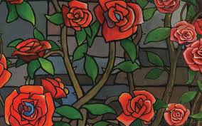 glass roses stained glass roses by imaginings on storybird