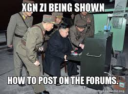 How To Post A Meme - xgn zi being shown how to post on the forums north korea not
