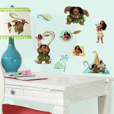 Wall Decal Music Headphones Teen by Disney Moana Peel And Stick Wall Decals Walmart Com