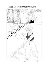 dragon ball fan manga dragon ball fan manga test by red93nojutsu on deviantart