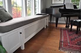 kitchen radiator ideas radiator cover that doubles as window seat fab home ideas