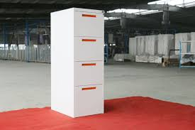 Vertical File Cabinets by Vertical Filing Cabinet Steel Material 4 Drawer Powder Coating Kd