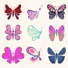 butterfly designs royalty free cliparts vectors and stock