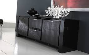buffet table with fireplace black finish modern buffet with crystal inlays table designs 15