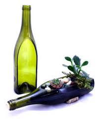 Wine Bottle Planters by Knob Creek Whiskey Bottle Garden Succulent Planter Bottle Only
