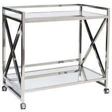 worlds away gerard stainless steel bar cart layla grayce home worlds away gerard stainless steel bar cart layla grayce