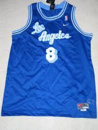 mpls los angeles lakers retro rewind vintage jersey 8 rare kobe