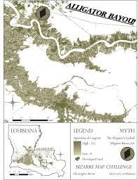 alligators in map map challenge christopher brown