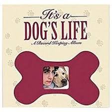 personalized dog photo album pet post bound album 12 x 12 dog