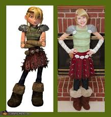 Dragon Halloween Costume Kids Train Dragon Hiccup Astrid Toothless Group