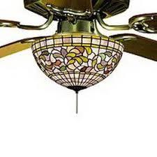 3 Light Ceiling Fan Light Kit by 41 Best Stained Glass Ceiling Fan Images On Pinterest Glass