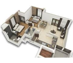 2bhk floor plans kanha group