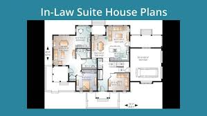 house with inlaw suite small house plans with in suite apartments house plans