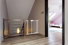 Child Stair Gates Amazon Com Baby U0026 Mom Baby Safety Metal Gate With Walk Through