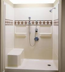 Bathroom Shower Inserts Bathroom Bath Shower Kits With Seat Shower Stall Kits Bathroom