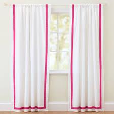 Magenta Curtain Panels Suite Ribbon Drape Pbteen