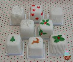 decorated mini christmas cakes u2013 decoration image idea