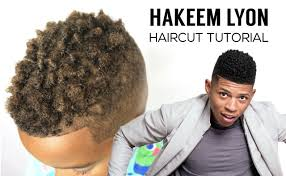 hakeem lyon haircut tutorial empire youtube