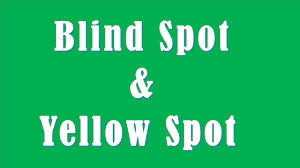 difference between blind spot and yellow spot youtube
