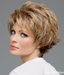hair styles for fifty five year women short hair wigs for women over 50 evie pinterest
