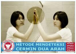 Cermin Dua Arah cara mendeteksi cermin dua arah nge baca