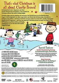 peanuts brown christmas brown christmas 50th anniversary a deluxe