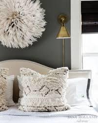 Dark Grey Bedroom Walls Glamorous Gray Bedroom Features Walls Painted Dark Gray Lined With