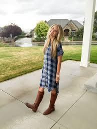 plaid shirt dress sale a slice of style